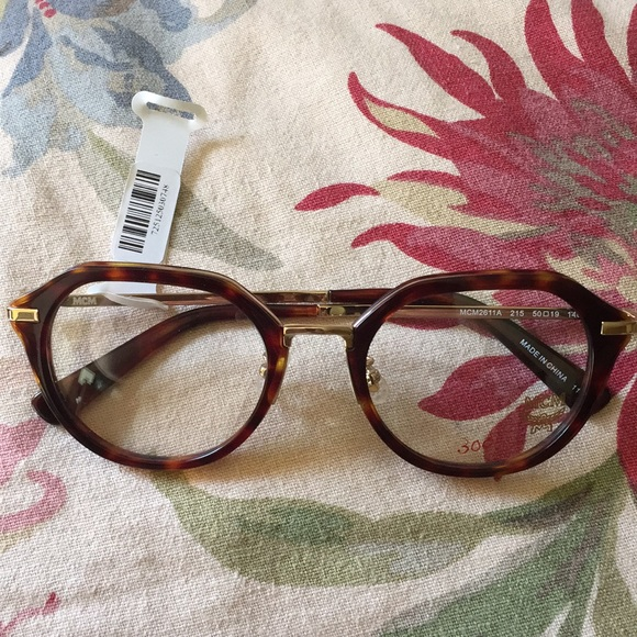 MCM Accessories - MCM Glasses Eyewear Frames TORTOISE & GOLD $300NEW